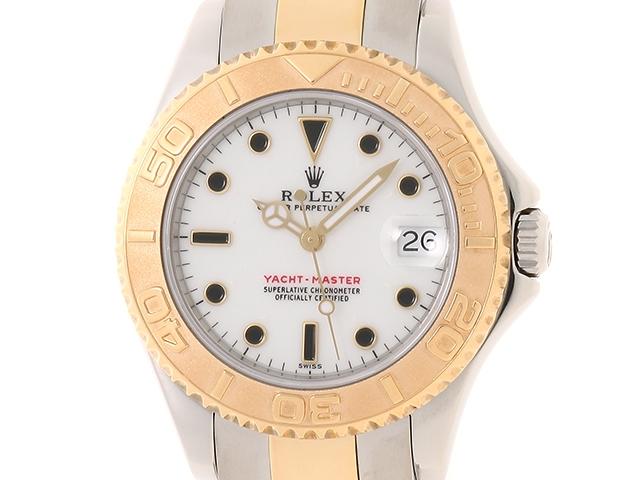 【送料無料】ROLEX ロレックス 時計 ヨットマスター 68623  K18YG ステンレス A番(1999年頃) ボーイズ 自動巻き 【436】【中古】【大黒屋】