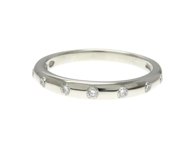 BVLGARI ブルガリ フェディ ウエディング リング 指輪 PT950 プラチナ ダイヤモンド 46号 【474】【中古】【大黒屋】
