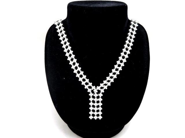 【送料無料】TIFFANY&CO ティファニー PT950 ダイヤモンド ネックレス プラチナ フラワーモチーフ 【430】【中古】【大黒屋】