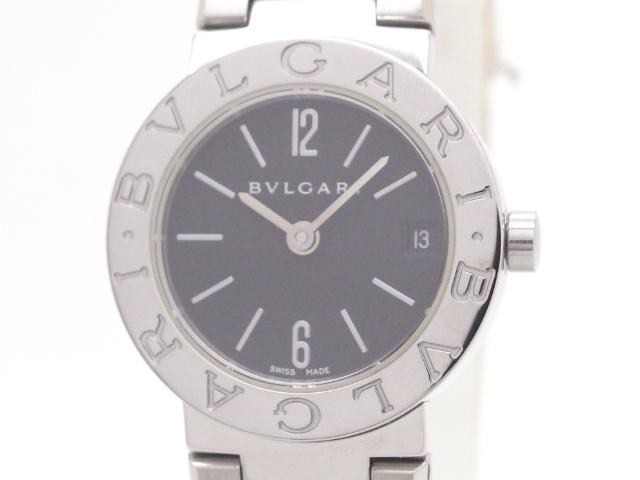 【送料無料】BVLGARI 時計 ブルガリ ブルガリ クオーツ BB23SS SS 【437】【中古】【大黒屋】
