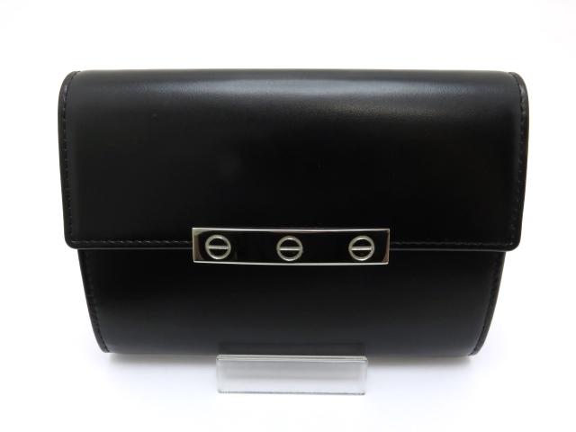 Cartier カルティエ ZIP財布 ラブ レザー ブラック【431】【中古】【大黒屋】