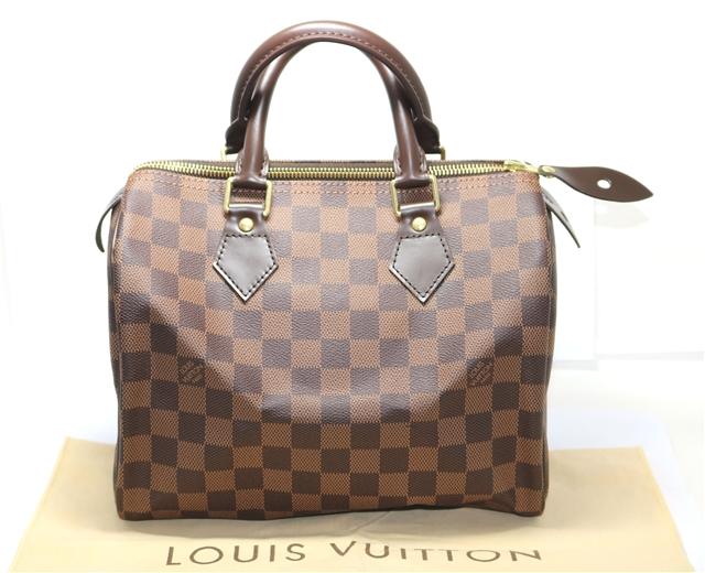 【送料無料】LOUIS VUITTON バッグ スピーディ25 ハンドバッグ ダミエ レディース【433】【中古】【大黒屋】