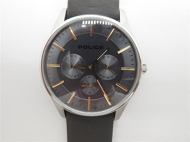 POLICE 時計 クオーツ COURTESY【410】【中古】【大黒屋】