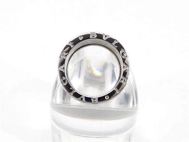 【送料無料】BVLGARI ブルガリ 貴金属・宝石 B-zero1 リング 指輪 Mサイズ ホワイトゴールド WG 54号 【203】【中古】【大黒屋】