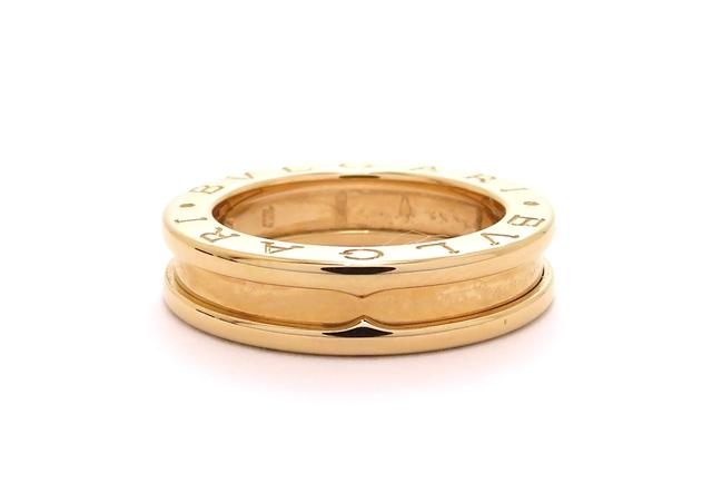 BVLGARI ブルガリ リング 指輪 B-zero1 ビーゼロワン XSサイズ K18ピンクゴールド 47号 6.5g 【473】【中古】【大黒屋】