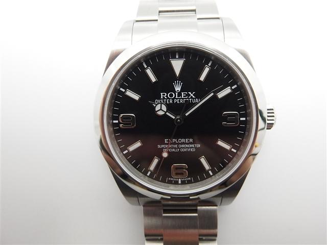 【送料無料】ROLEX 時計 エクスプローラー1 オートマチック【410】【中古】【大黒屋】