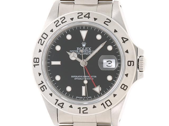 【送料無料】ROLEX ロレックス 時計 エクスプローラー2 オートマチック 【435】【中古】【大黒屋】