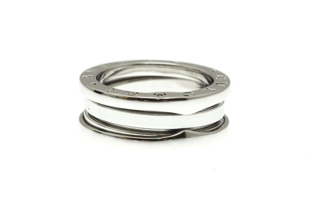 BVLGARI ブルガリ リング 指輪 B-zero1リング Sサイズ ホワイトゴールド 50号  8.2g 【430】【中古】【大黒屋】