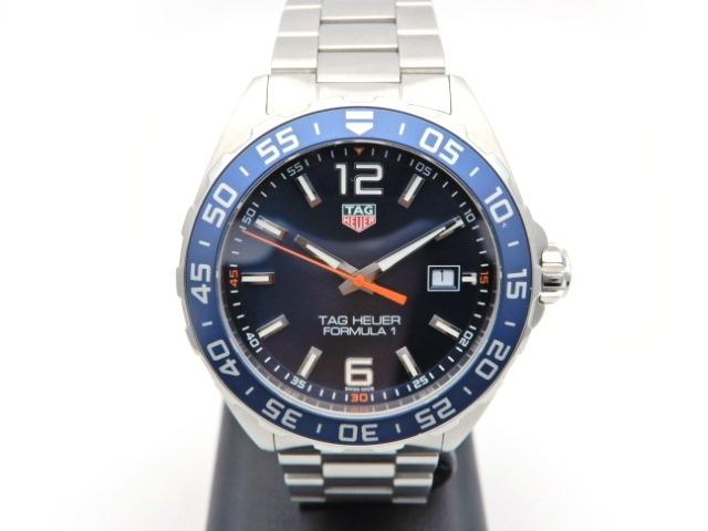 【送料無料】TAG HEUER 時計 フォーミュラ1  クオーツ ステンレス ブルー文字盤 WAZ101 【439】【中古】【大黒屋】