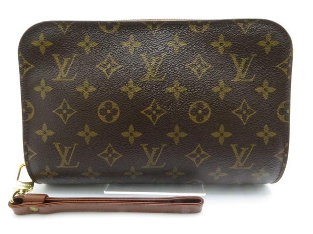 LOUIS VUITTON セカンドバッグ オルセー モノグラム【450】【中古】【大黒屋】