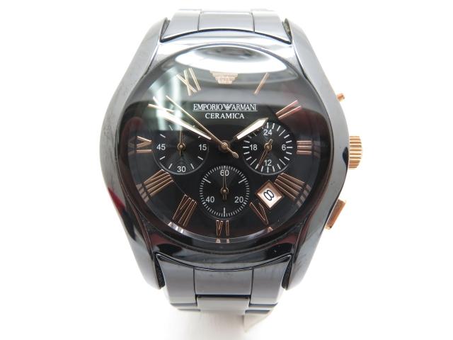 EMPORIO ARMANI メンズ腕時計 クオーツ 【450】【中古】【大黒屋】