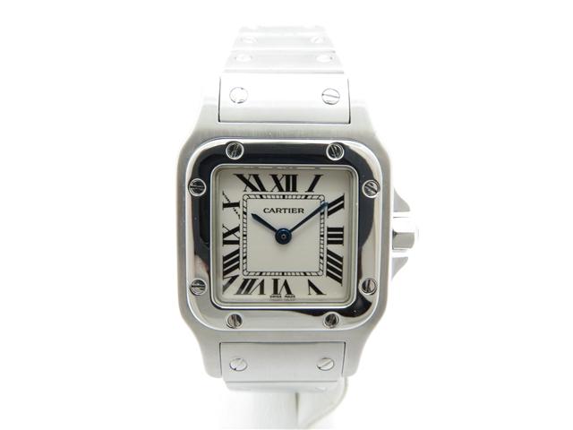 【送料無料】Cartier カルティエ 時計 サントスガルベSM SS ステンレス レディース クォーツ 【450】【中古】【大黒屋】