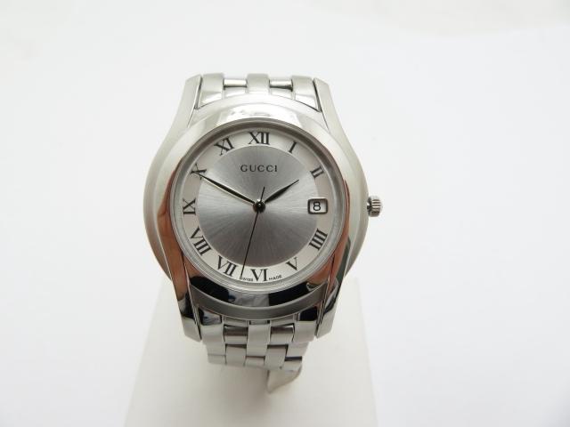 GUCCI メンズ腕時計 クオーツ 5500M ステンレス【450】【中古】【大黒屋】