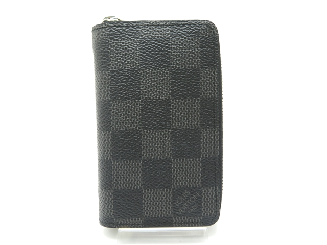 LOUIS VUITTON ルイ・ヴィトン コインケース ジッピー・コインパース ダミエ・グラフィット 【450】【中古】【大黒屋】