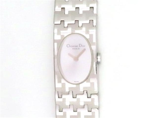 Dior ディオール 時計 ミスディオール D70-100 クオーツ シルバー レディース 【430】【中古】【大黒屋】