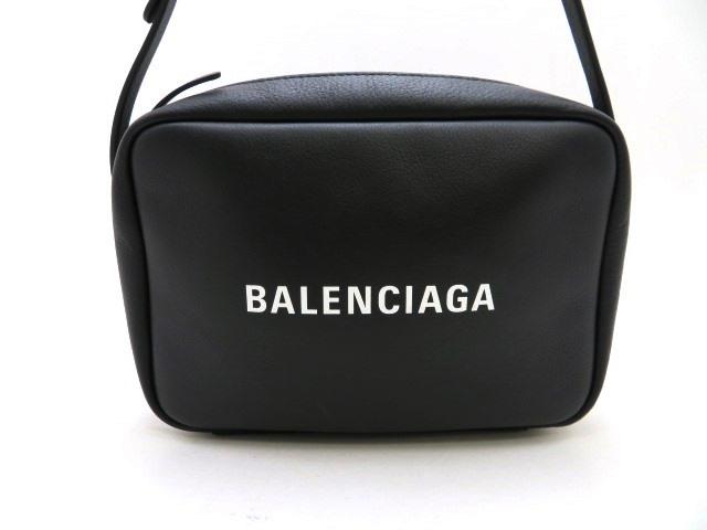 【送料無料】BALENCIAGA バレンシアガ バッグ ショルダーバッグ エブリディカメラバッグS ノアール(ブラック) カーフ【473】【中古】【大黒屋】