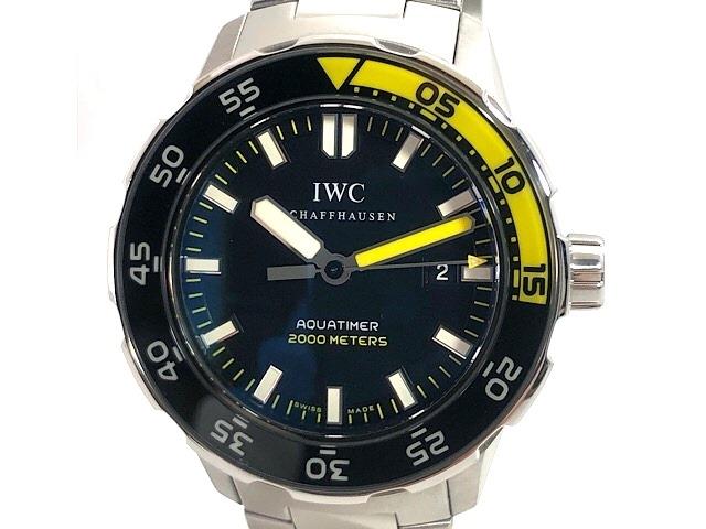 【送料無料】IWC 時計 アクアタイマー オートマチック ステンレス IW356802 200.8g【471】【中古】【大黒屋】