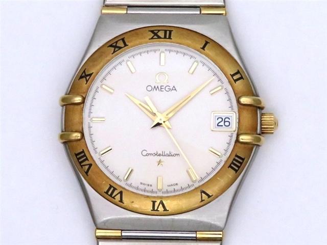 【送料無料】OMEGA オメガ 時計 コンステレーション 1312.30 YG/SS シルバー クオーツ メンズ【438】【中古】【大黒屋】