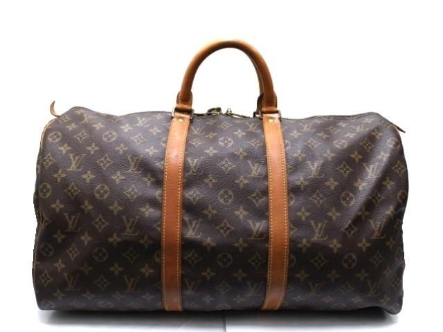 LOUIS VUITTON ルイヴィトン キーポル50 ボストンバッグ 旅行鞄 モノグラム M41426 【474】【中古】【大黒屋】
