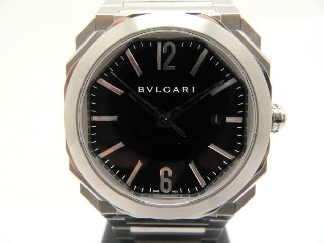 【送料無料】BVLGARI ブルガリ オクト BGO41BSSD メンズ ステンレス 自動巻き【430】【中古】【大黒屋】