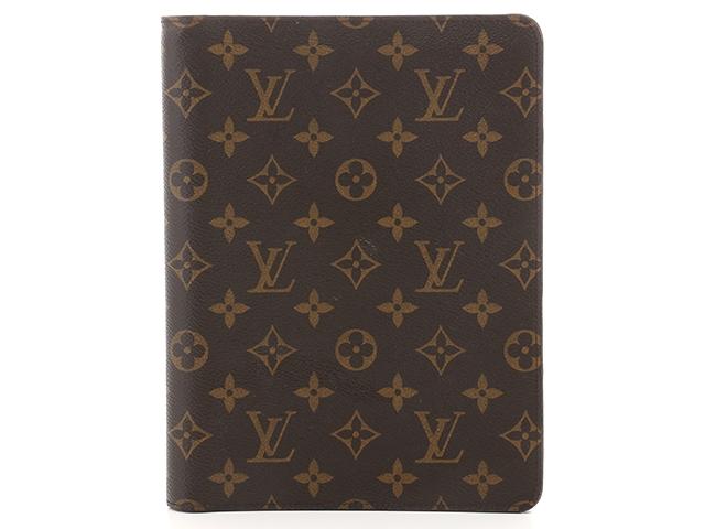 LOUIS VUITTON アジェンダ・ビューロー 手帳 モノグラム R20100【430】【中古】【大黒屋】