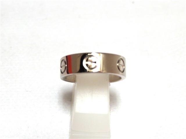 Cartier ラブリング WG 48号 【432】【中古】【大黒屋】