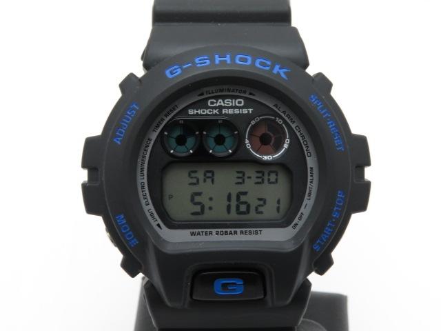 CASIO 時計 G-SHOCK  DW-6900FS クオーツ ラバー メンズ【472】【中古】【大黒屋】