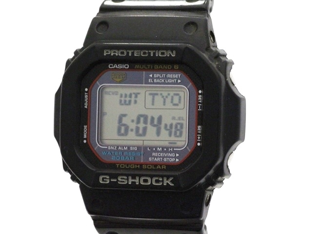 CASIO カシオ G-SHOCK GW-M5610 SS/樹脂ベルト タフソーラー電波時計【473】【中古】【大黒屋】