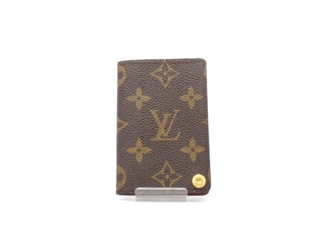 LOUIS VUITTON ルイ・ヴィトン 小物 カードケース ポルトカルトクレディプレッシオン モノグラム M60937 【474】【中古】【大黒屋】