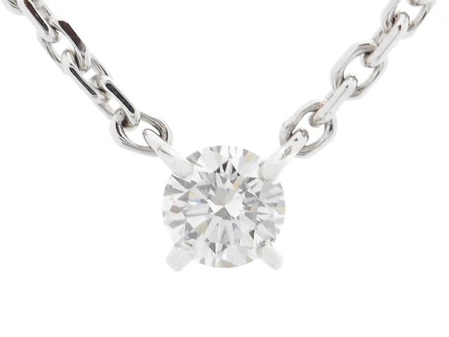 【送料無料】Cartier カルティエ 貴金属・宝石 ラブサポートネックレス ダイヤネックレス WG ホワイトゴールド 5.0g 【200】【中古】【大黒屋】