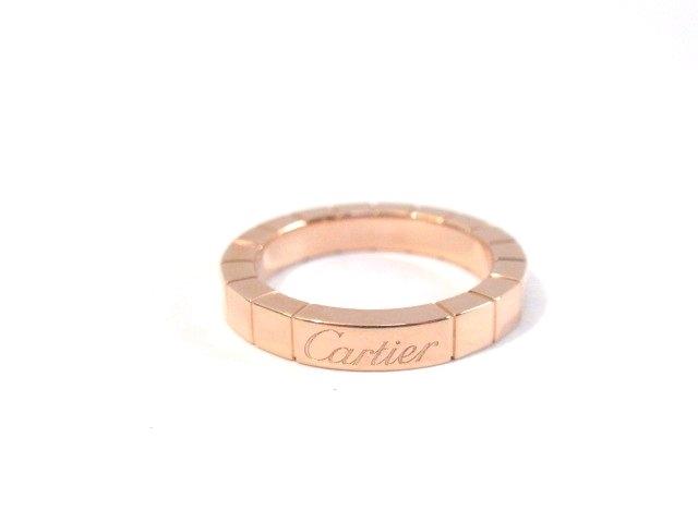 Cartier カルティエ ラニエールリング PG 47号 指輪 5.5g B4048300【430】【中古】【大黒屋】