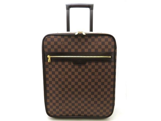 【送料無料】LOUIS VUITTON ルイヴィトン ペガス45 キャリーバッグ スーツケース ダミエ N23293【470】【中古】【大黒屋】