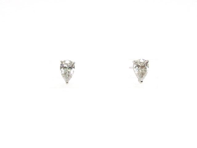 【送料無料】JEWELRY ノンブランドジュエリー PT900 ダイヤモンド ピアス 【472】【中古】【大黒屋】