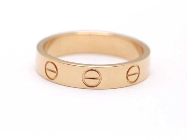 【送料無料】Cartier カルティエ ミニラブリング 指輪 B4085200 PG 47号 【460】【中古】【大黒屋】