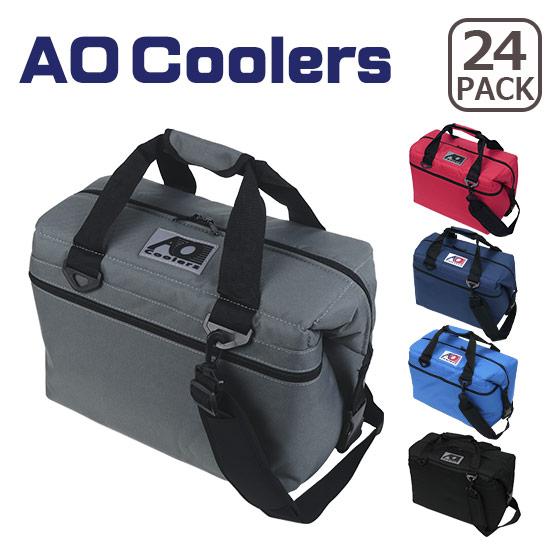 AOクーラーズ クーラーボックス 24 PACK CANVAS キャンバス 選べるカラー