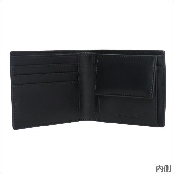 Emporio Armani Black Billfold Portemonnee Y4R167 YG90J 81072
