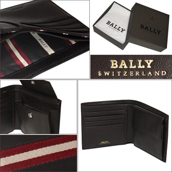 1b33521762c3 BALLY◇バリー TYE 二つ折り財布 小銭入れ付 リサラーソン チョコレート ...