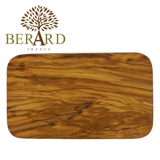 【24時間ポイント5倍】BERARD(ベラール) オリーブウッド カッティングボード 54178 木製 まな板 食器 プレート ウッドプレート トレー カフェ 長方形