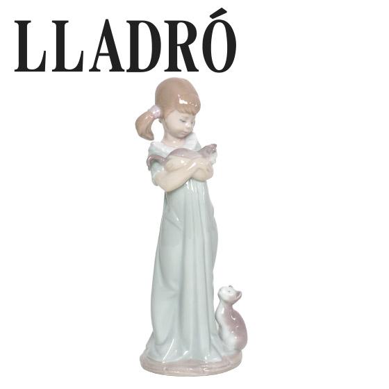 リヤドロ 少女置物 LLADRO 私のことも忘れないで 5743 ギフト・のし可 北海道・沖縄は別途540円加算
