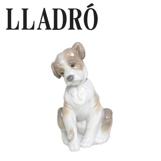 リヤドロ 動物 LLADRO 犬とかたつむり 6211 ギフト・のし可