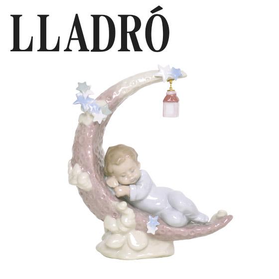 リヤドロ ベビー LLADRO お月様のベッド 6479(リアドロ)ギフト・のし可