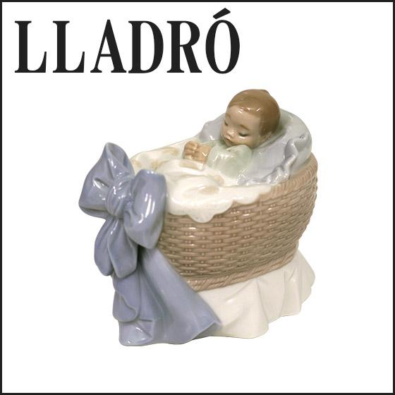 【Max1,000円OFFクーポン】リヤドロ 陶器人形 LLADRO スイートベイビー(男の子)赤ちゃん 6976 オブジェ 置物 磁器製品 フィギュリン ギフト・のし可 北海道・沖縄は別途540円加算