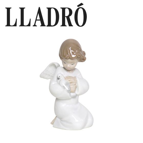 【Max1,000円OFFクーポン】リヤドロ 天使 LLADRO 優しい翼 8245 ギフト・のし可 北海道・沖縄は別途945円加算