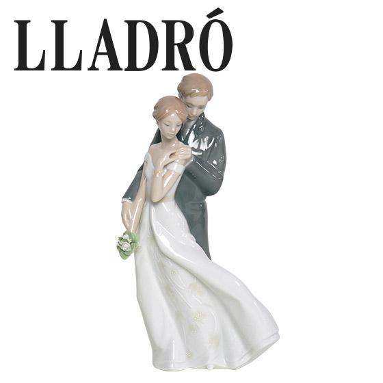 【Max1,000円OFFクーポン】リヤドロ 人形 カップル LLADRO 幸せのはじまり 8274 ギフト・のし可 御祝 結婚記念 ギフト 北海道・沖縄は別途540円加算