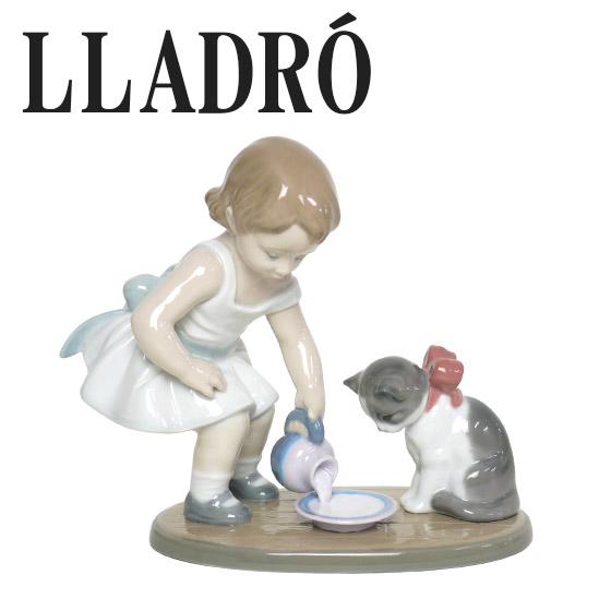 リヤドロ 猫 動物 LLADRO 召しあがれ 8498 ギフト・のし可