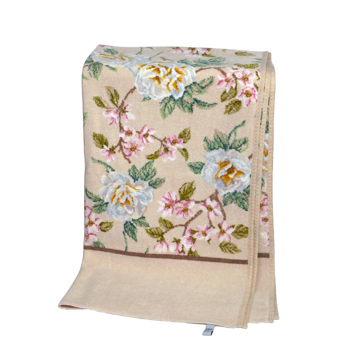 フェイラー バスタオル バニラローズ FEILER 75x150cm FEILER Chenille Bath Towel Vanilla Rose ギフトに最適 日用品雑貨 ギフト・のし可