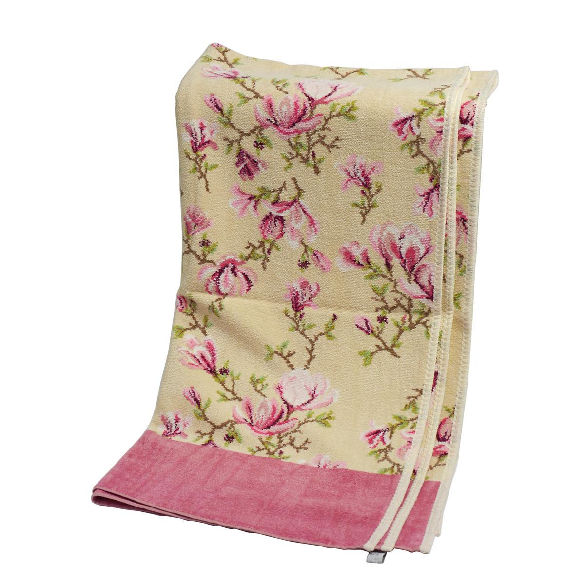 【24時間ポイント3倍】フェイラー バスタオル マグノリアベージュ FEILER ローズウッド 75x150cm FEILER Chenille Bath Towel Magnolia Beige ギフトに最適 日用品雑貨 ギフト・のし可