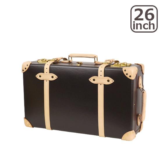 グローブトロッター サファリ 26インチ EXTRA DEEP TROLLEY CASE スーツケース2輪 COFFEE BROWN & NATURAL 北海道・沖縄は別途945円加算