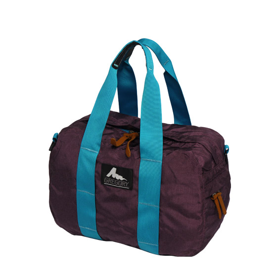 75108351c771 daily-3  Gregory ☆ Duffle Bag XS plum and turquoise