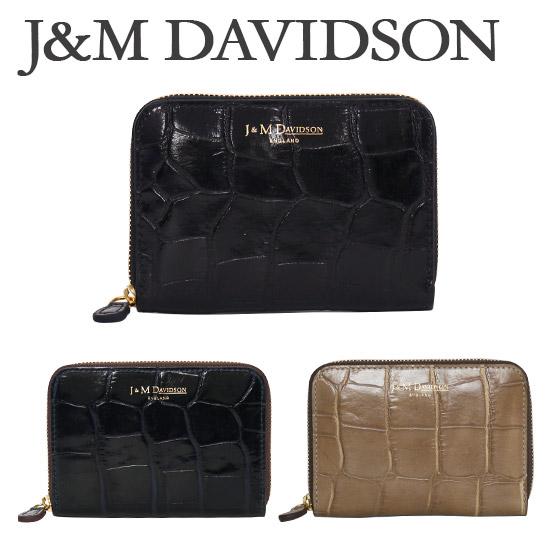 J&M DAVIDSON (ジェイアンドエムデヴィッドソン)ミニ財布 SMALL ZIP PURSE(スモールジップパース)5259 7267 選べるカラー 北海道・沖縄は別途945円加算